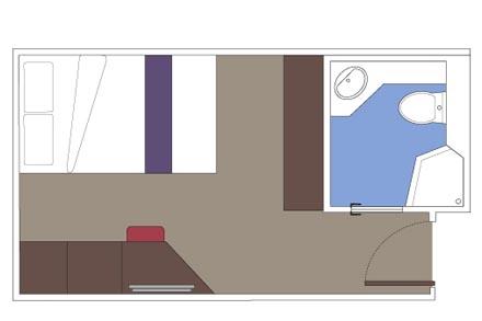 Внутренняя каюта Studio