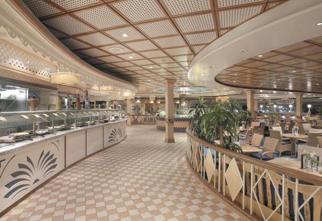 Шведский стол Windjammer Marketplace