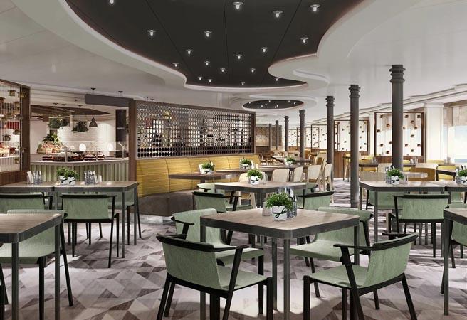 Ресторан-шведский стол World Fresh Marketplace